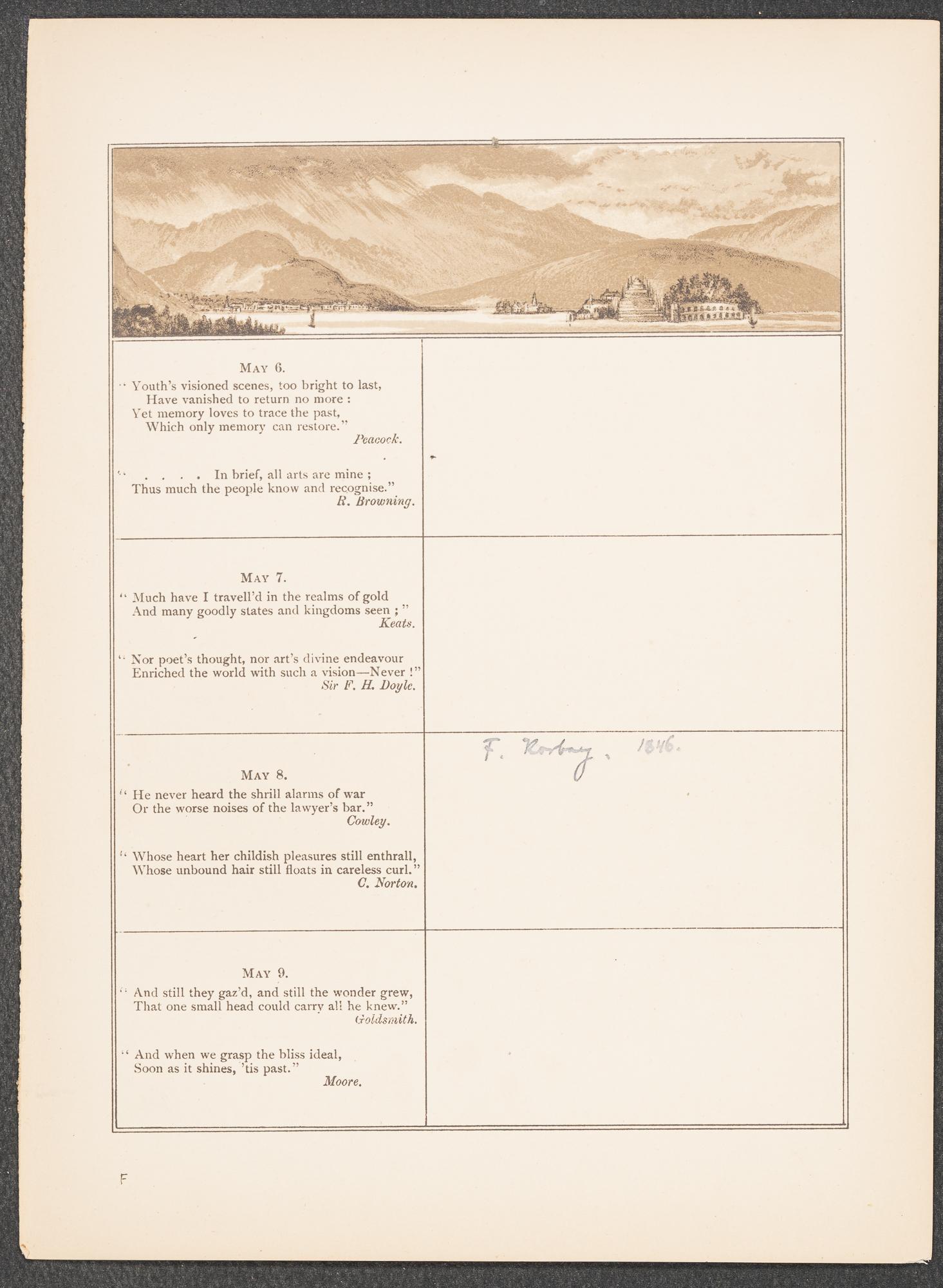 Birthday Book | Isabella Stewart Gardner Museum