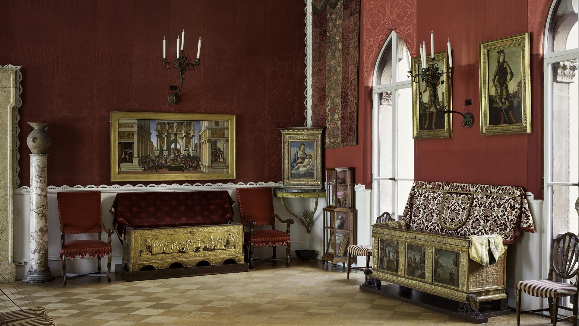 Raphael Room after restoration