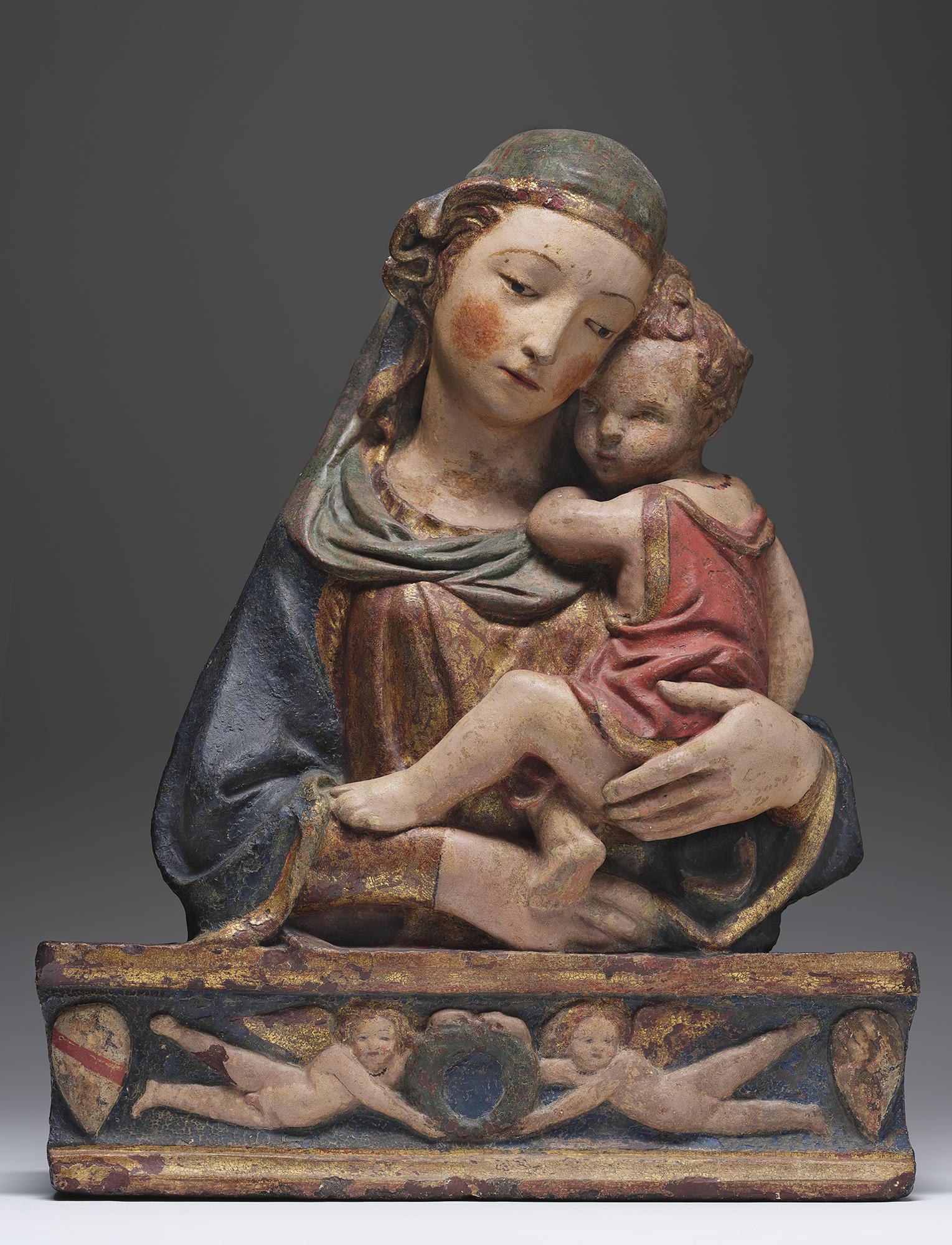Workshop of Lorenzo Ghiberti (Italian, about 1381-1455), Virgin and Child, 1425-1450
