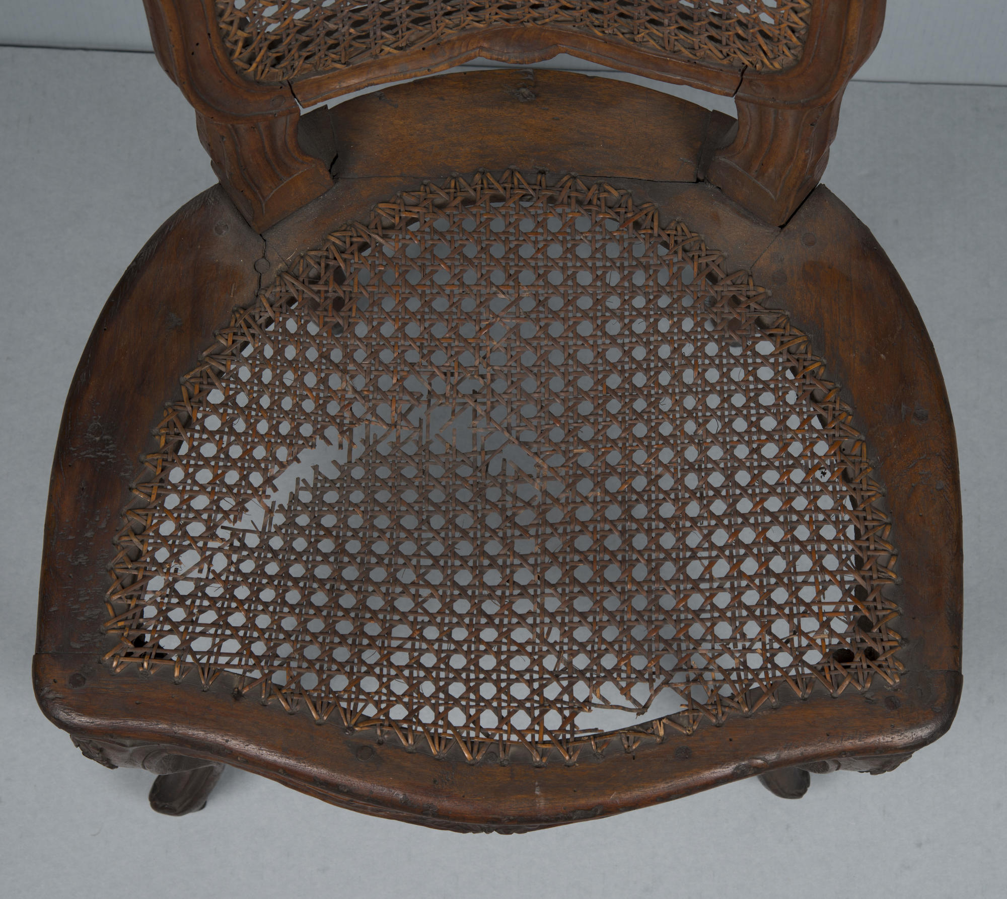 Italian, Parma, Side Chair, 2nd half of the 18th century, before treatment