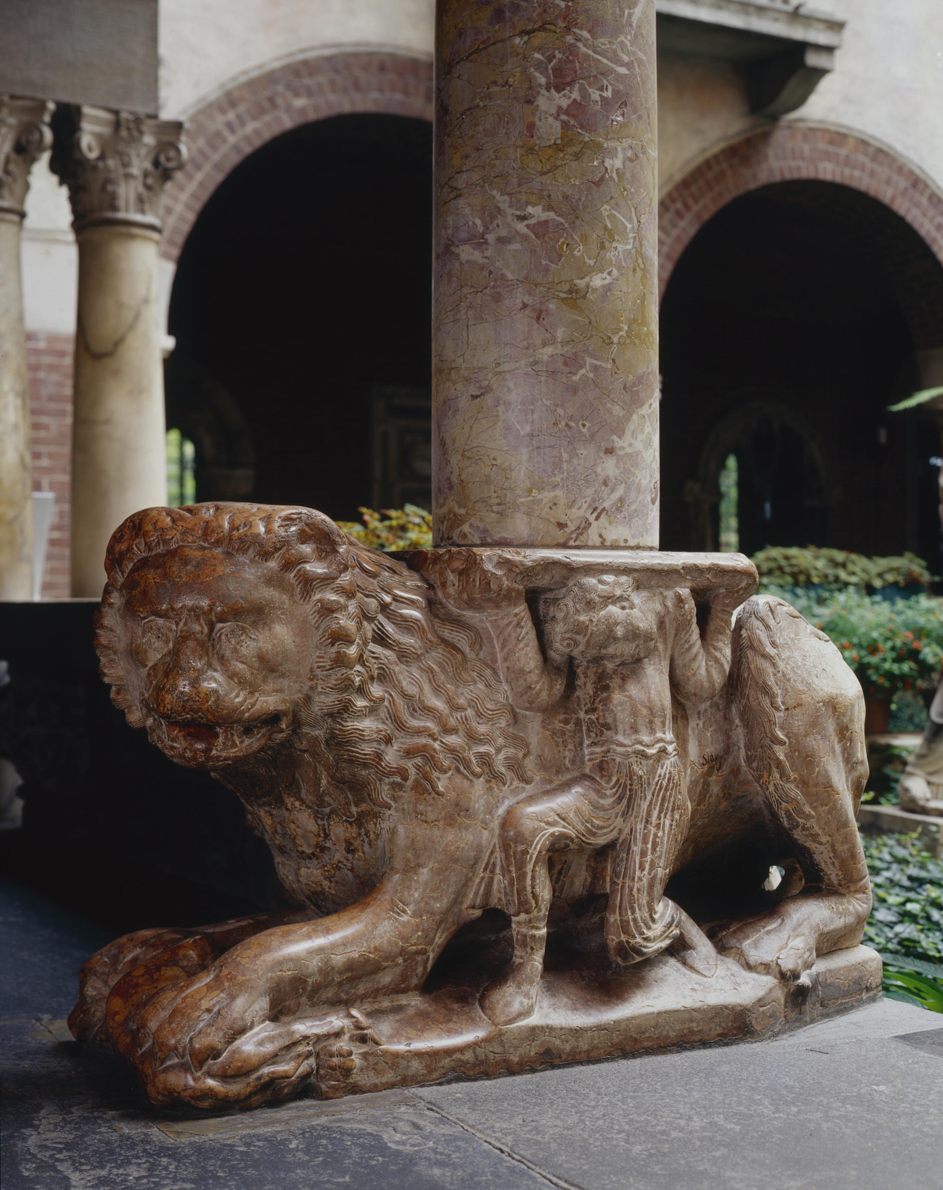 Italian, Northern Italy, Stylobate Lion, late 12th century–early 13th century