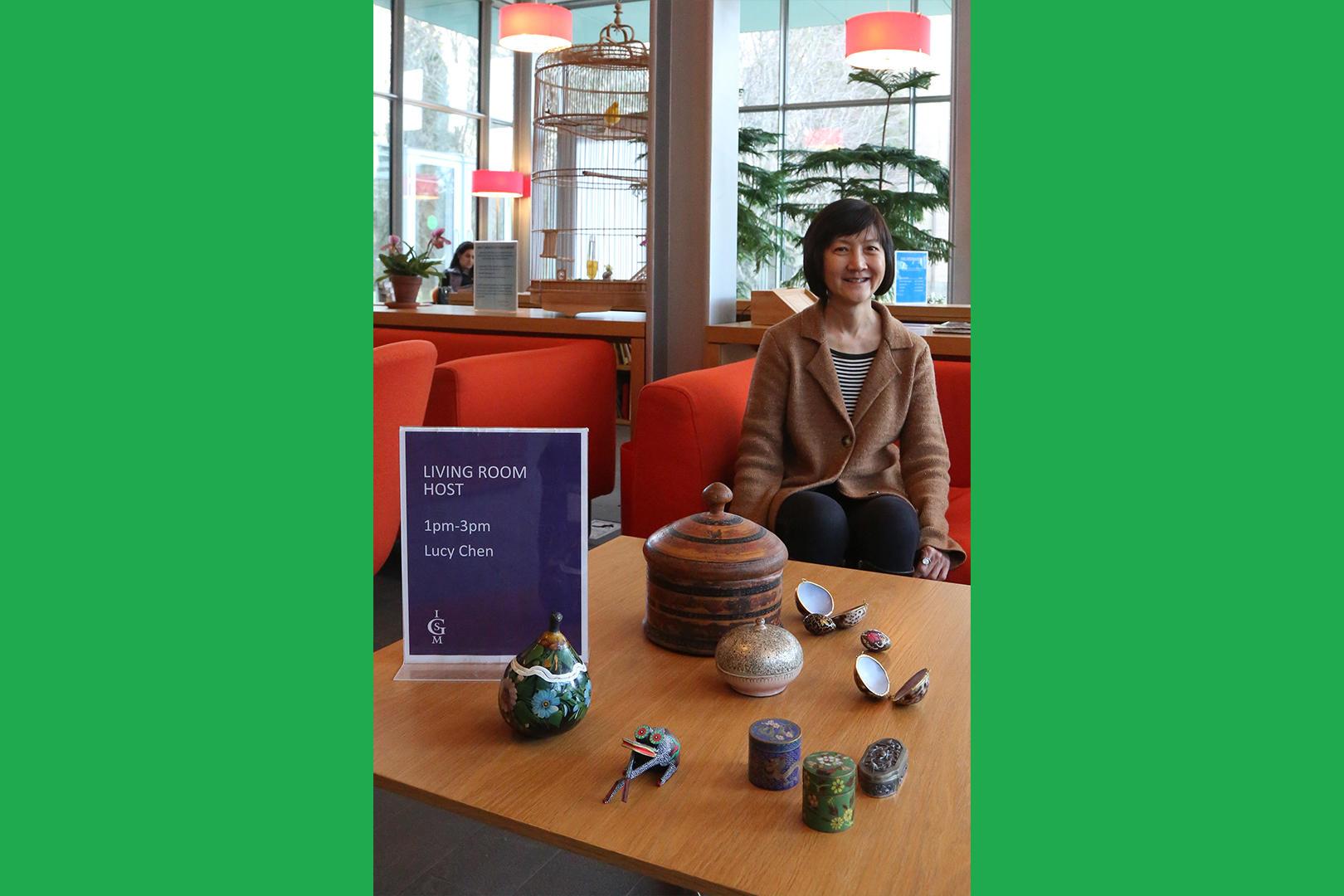 Host Lucy Chen, 2019