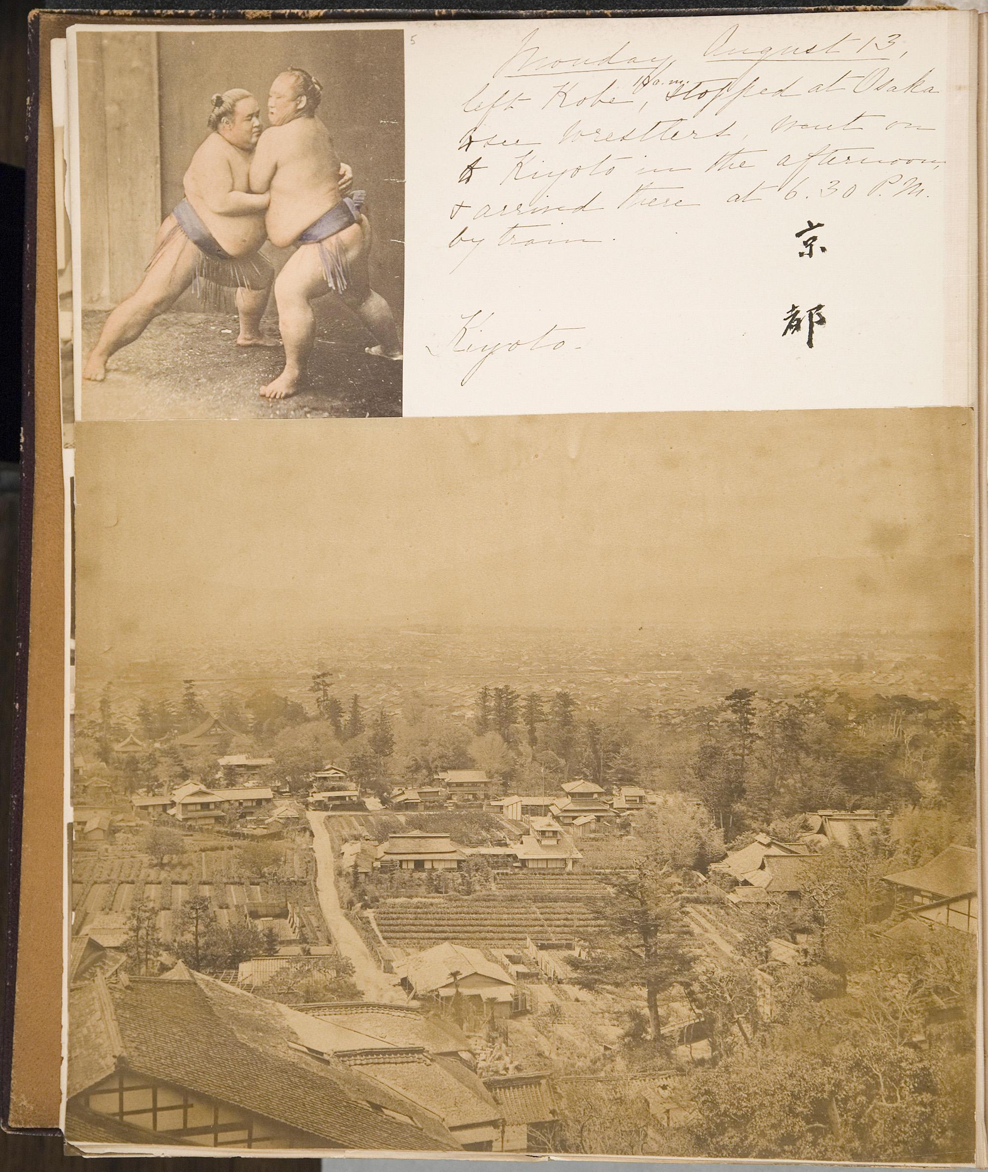 Isabella Stewart Gardner (American, 1840–1924), Travel Album: China and Japan, 1883, page 19