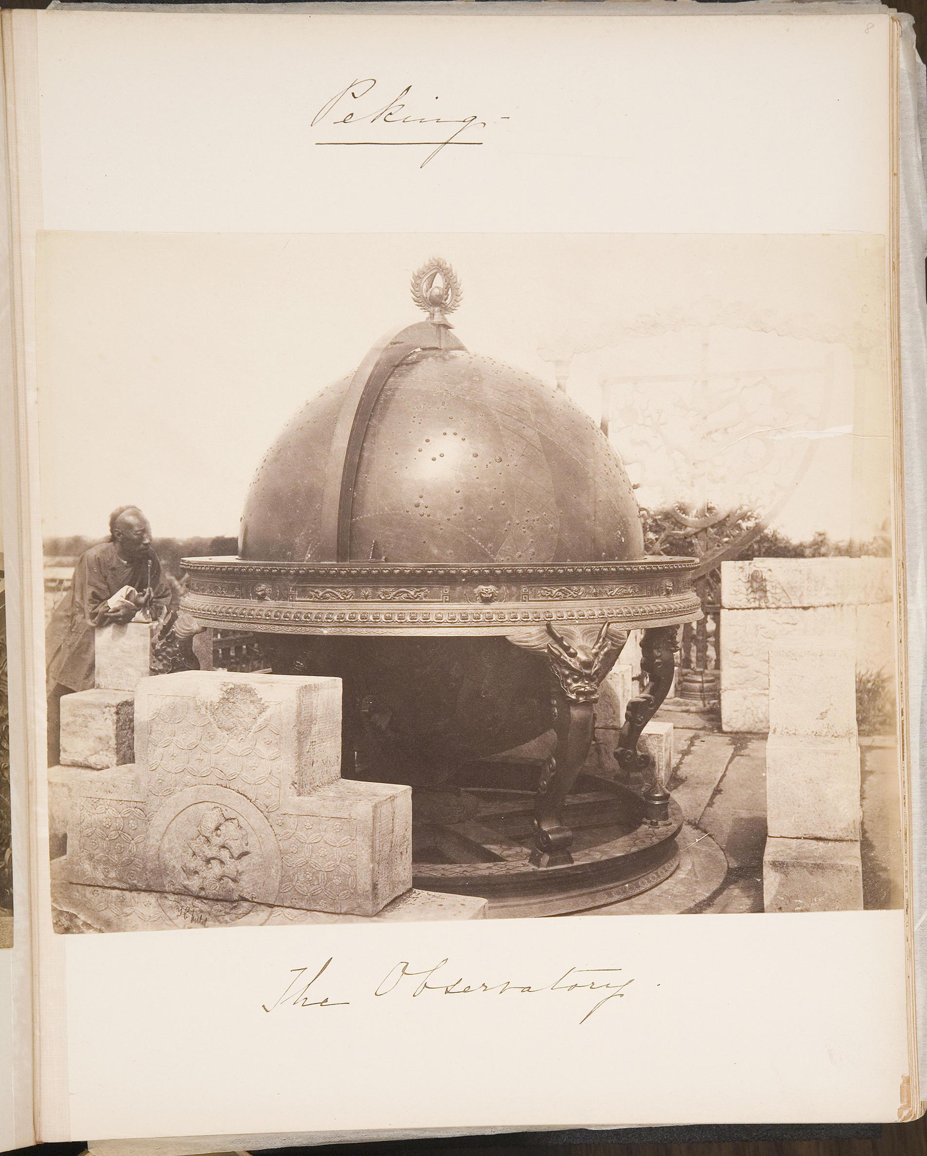 Isabella Stewart Gardner (American, 1840–1924), Travel Album: China, 1883, page 8