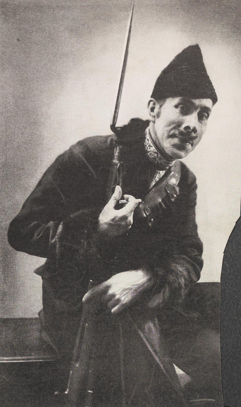 """Vanity Fair, """"George Arliss as Poldekin,"""" 1920, from the Modern Actors Case"""