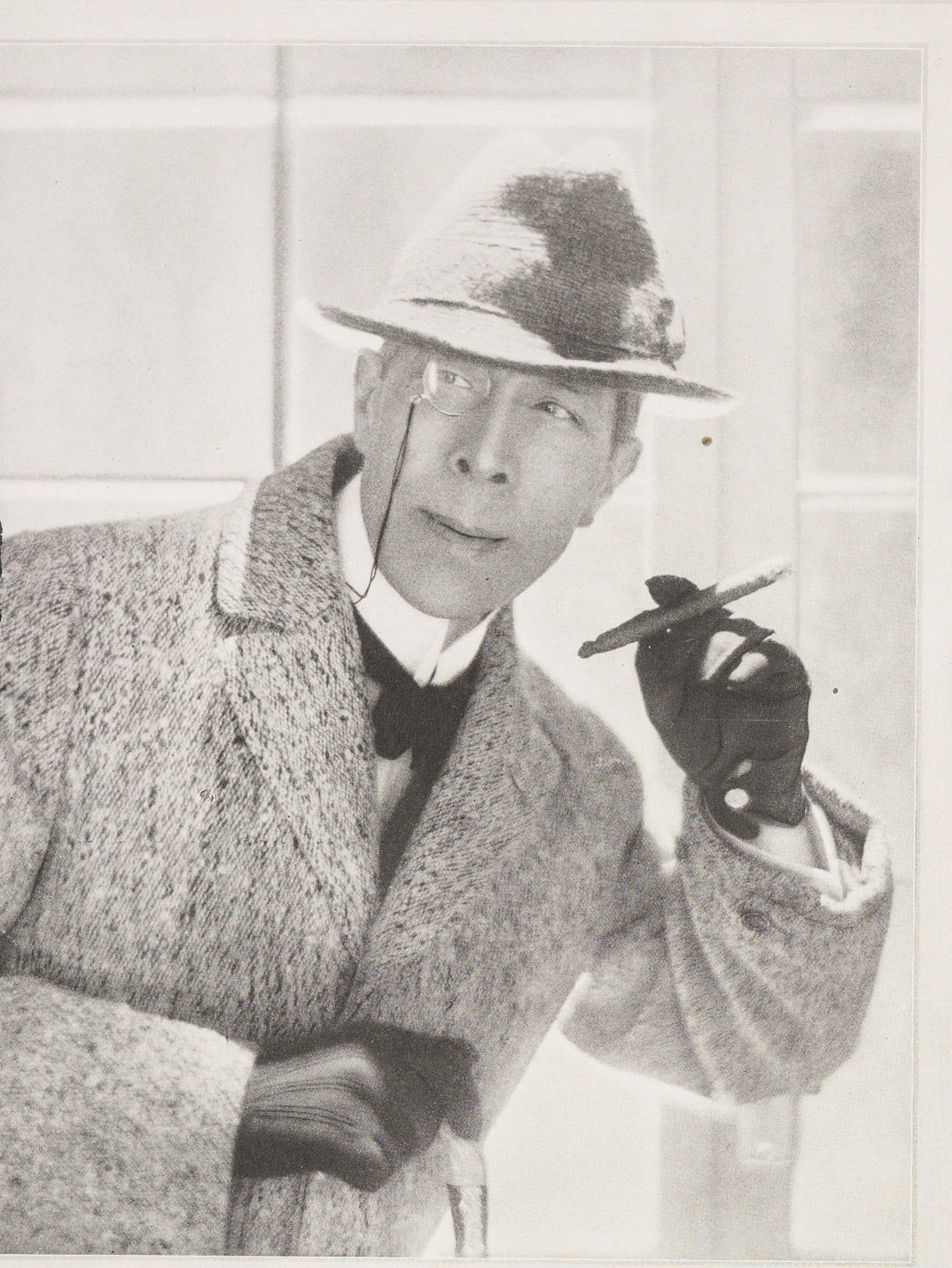 "Vanity Fair, ""George Arliss, A Votary of 'The Green Goddess,'"" February 1921, from the Modern Actors Case"