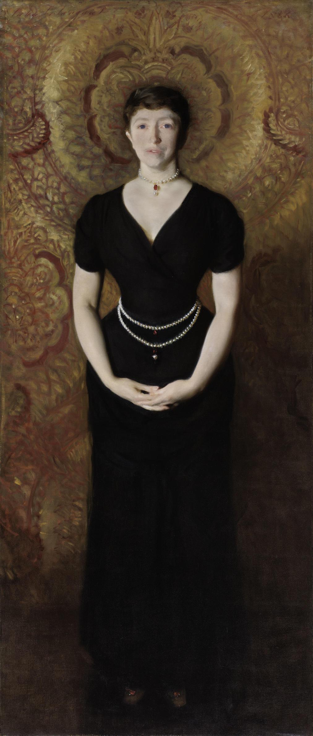 John Singer Sargent (American, 1856-1925), Isabella Stewart Gardner, 1888