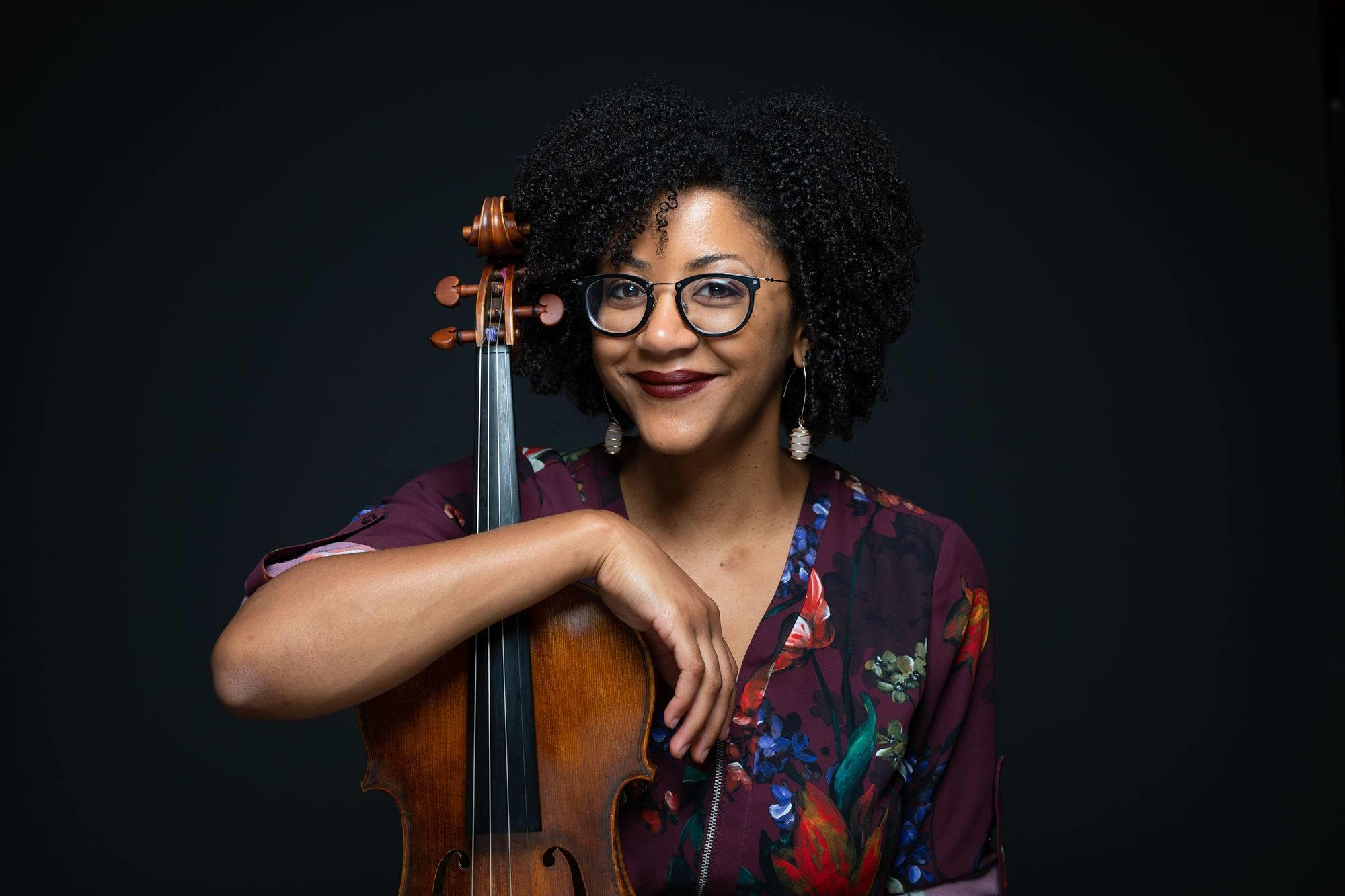 Ashleigh Gordon, Artistic/Executive Director and Violist of Castle of our Skins