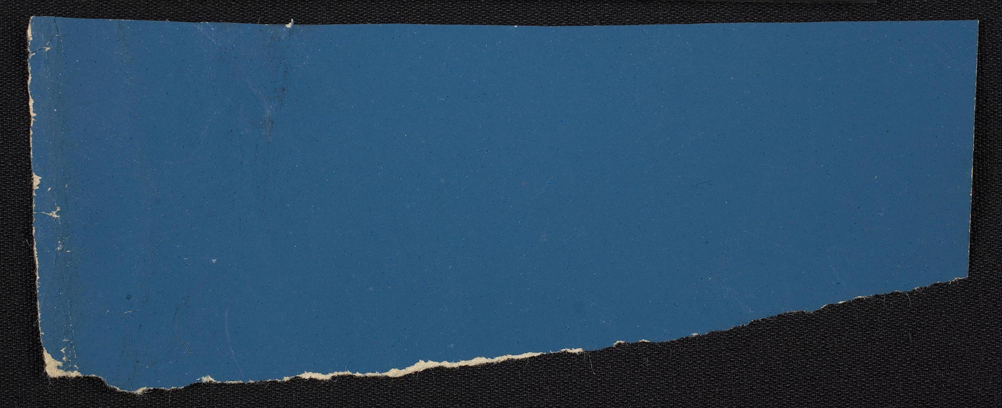 A piece of Bardin blue