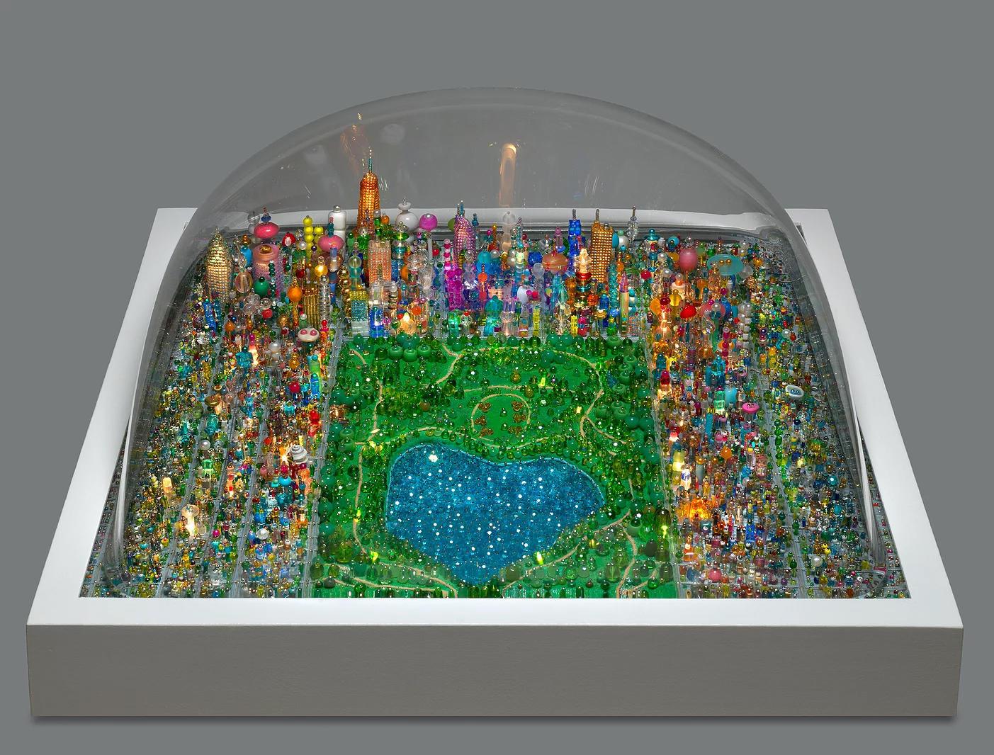 A sparkling diorama of Central Park.
