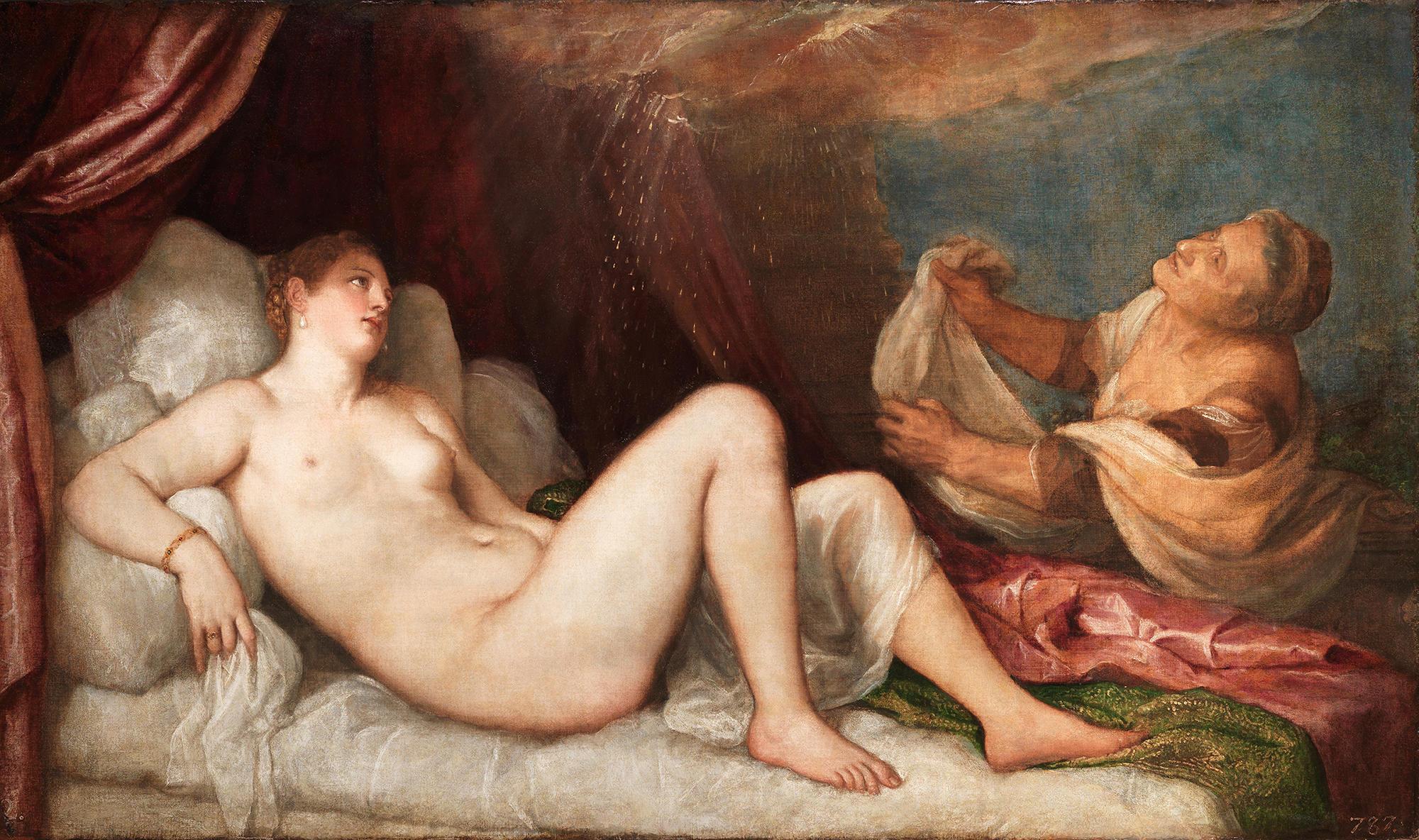Danaë by Titian.