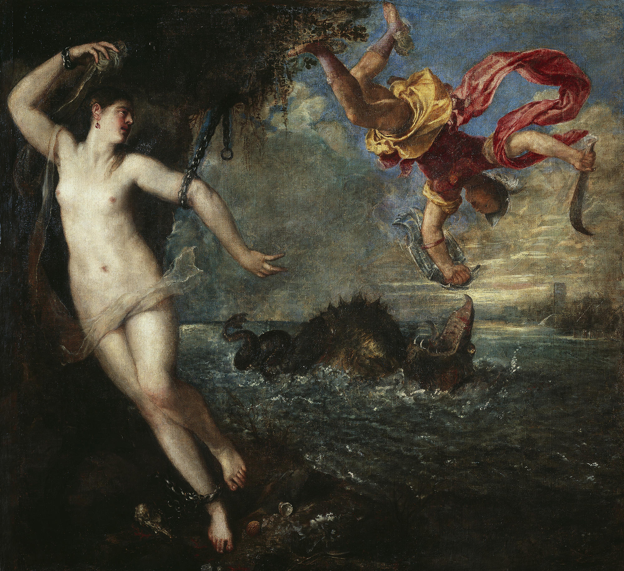 Perseus and Andromeda by Titian.