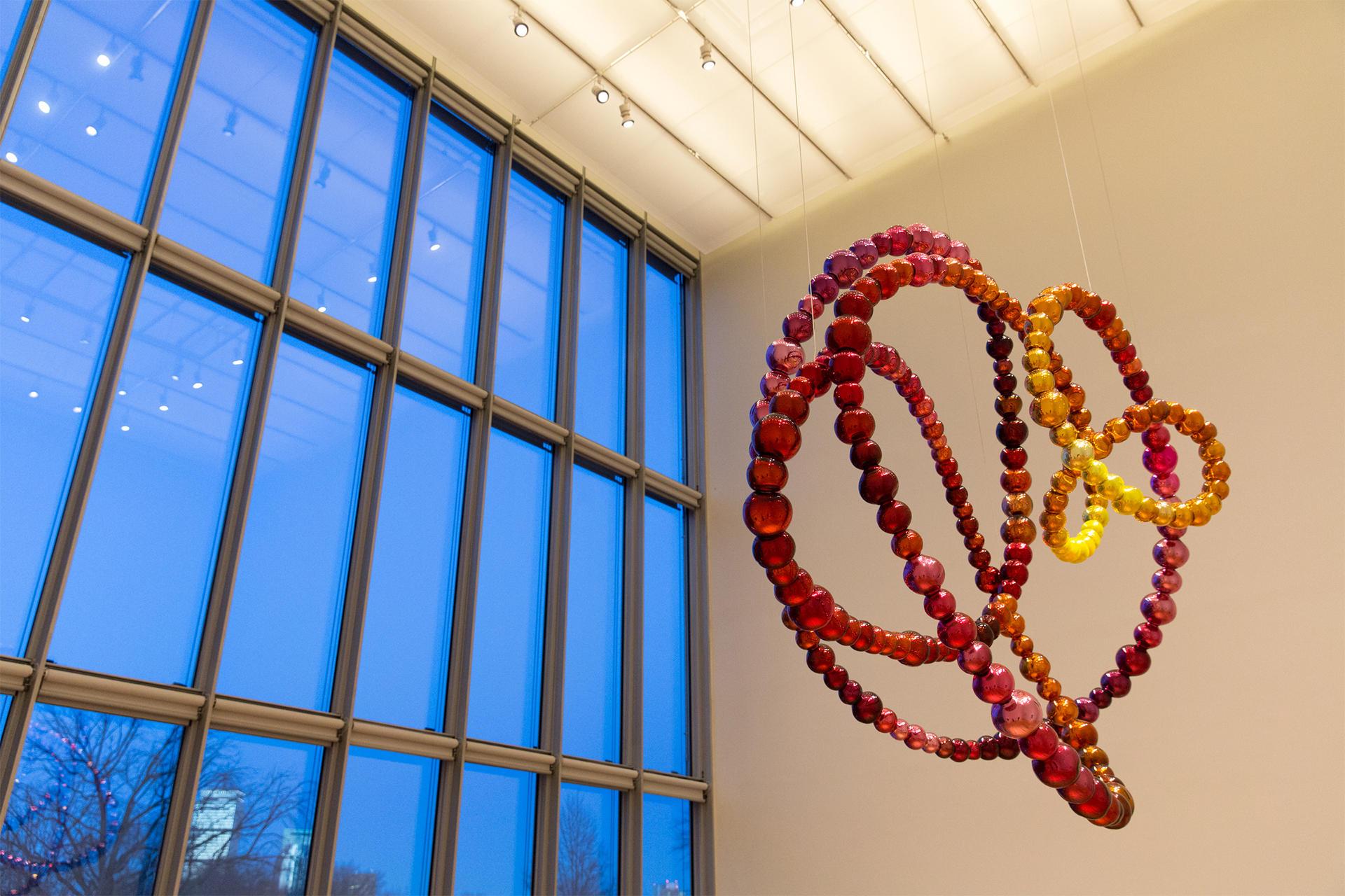 Jean-Michel Othoniel, Secret Flower Sculptures, Hostetter Gallery, 2015.
