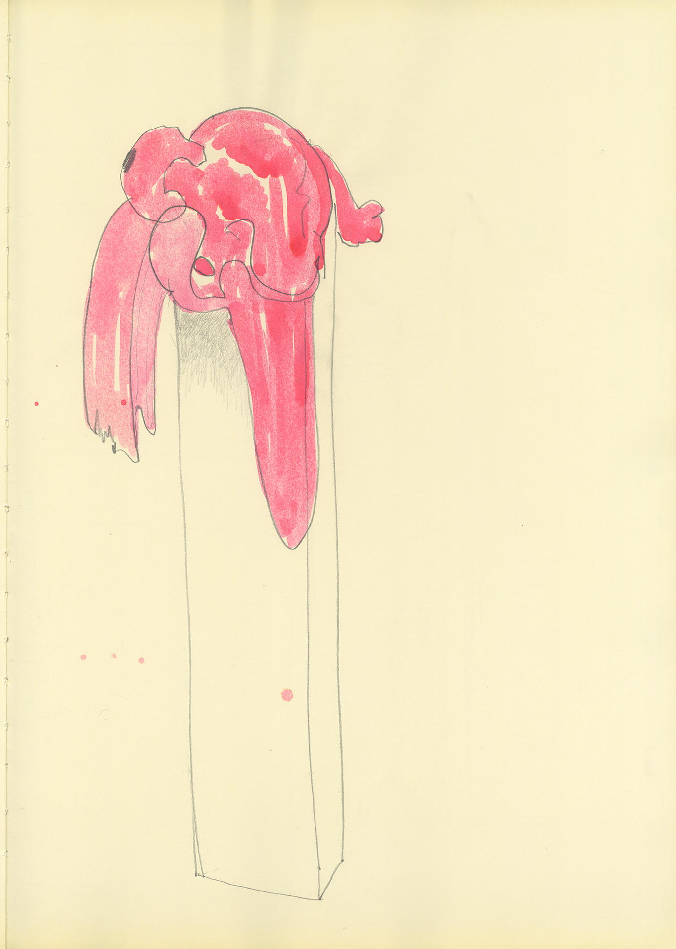 Bharti Kher, Untitled, 2013, mixed media on paper, 42cm x 30cm