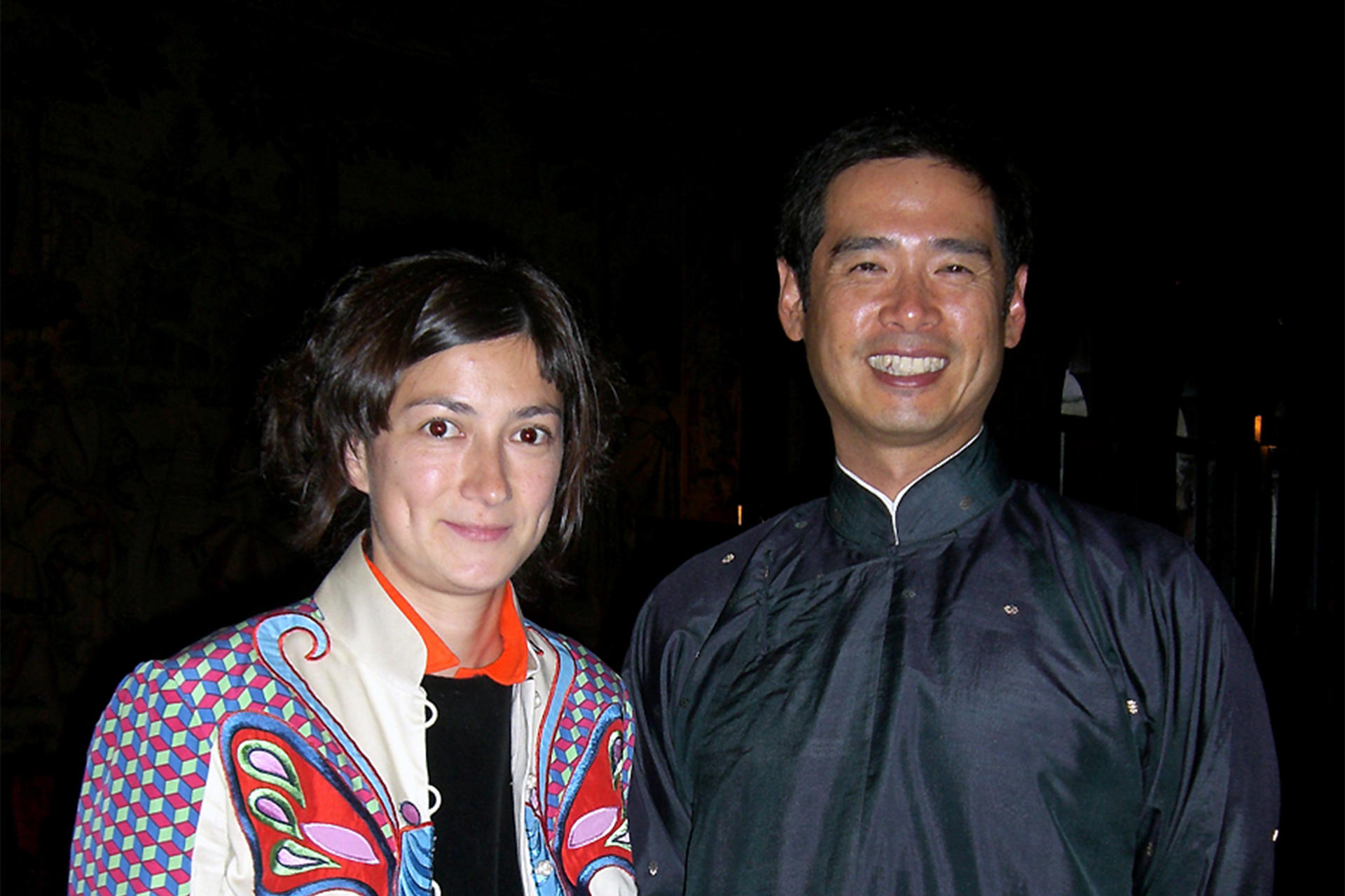 2008 AIR Su-Mei Tse and 1999 AIR Lee Mingwei, 2008. Photo: TSY