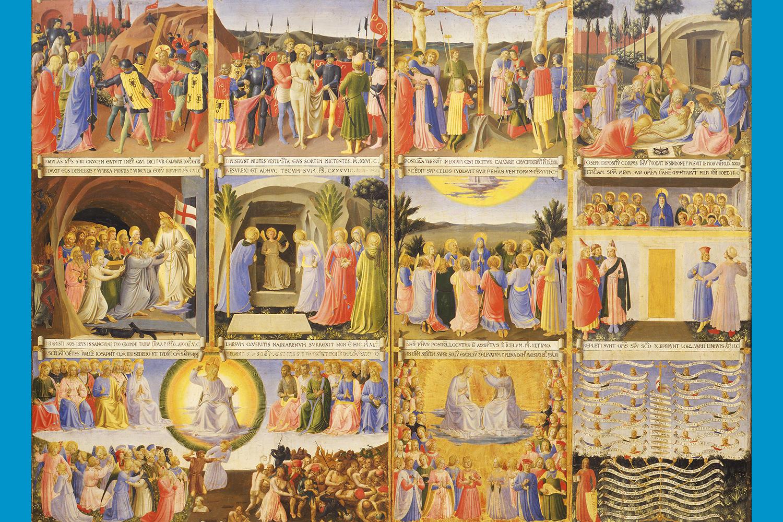 Fra Angelico (Italian, about 1400 - 1455), Armadio degli Argenti, 1450-1452. Tempera on panel, 123 x 60 cm (48 7/16 x 23 5/8 in.) Museo di San Marco, Florence – Polo Museale della Toscana