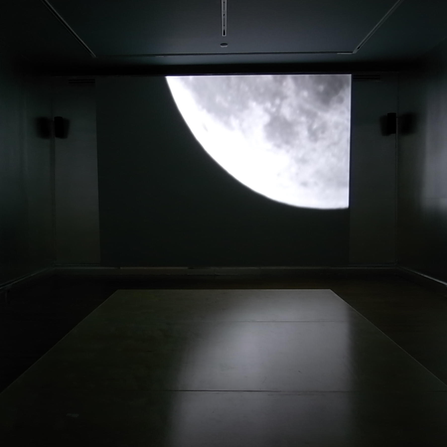 Installation view of Lunar Reflections, 2009, Isabella Stewart Gardner Museum, Boston.