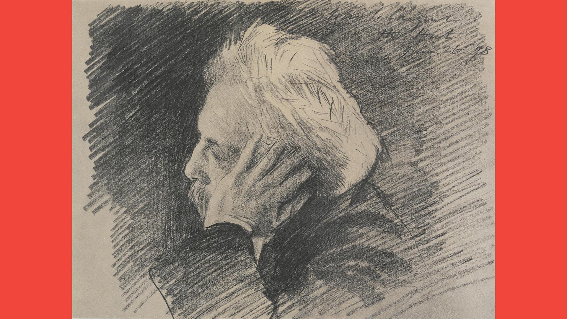 After John Singer Sargent (Florence, 1856-1925, London) Gabriel Fauré, about 1898