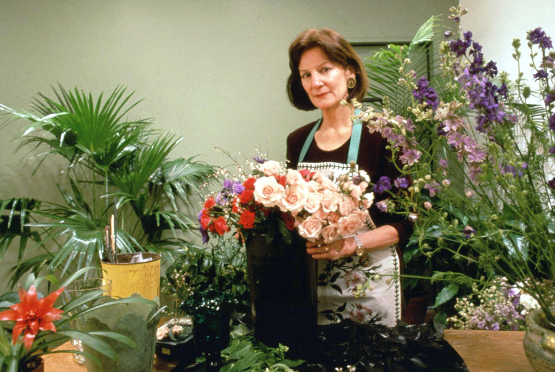 Host Jeanne Stanton