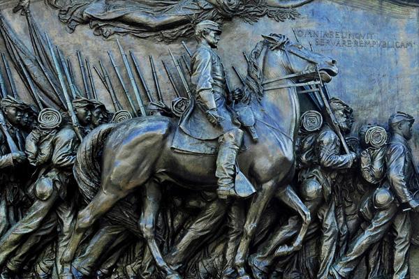 The St. Gaudens in Boston Common