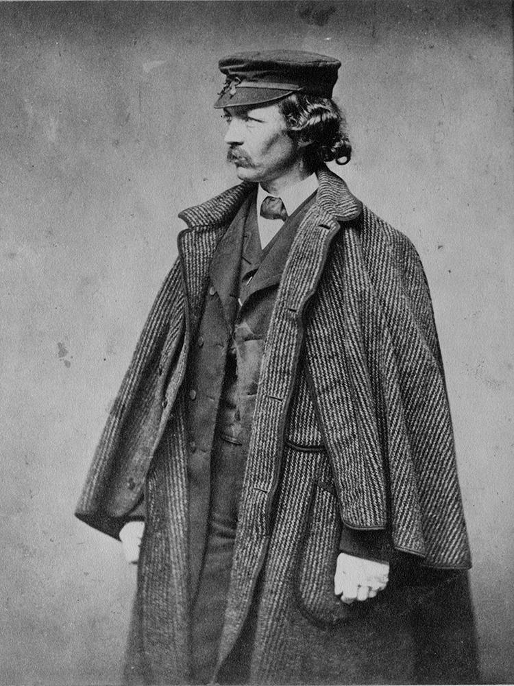 Photographer Unknown, Frederick Law Olmsted (1860). Courtesy of the National Park Service, Frederick Law Olmsted National Historic Site.