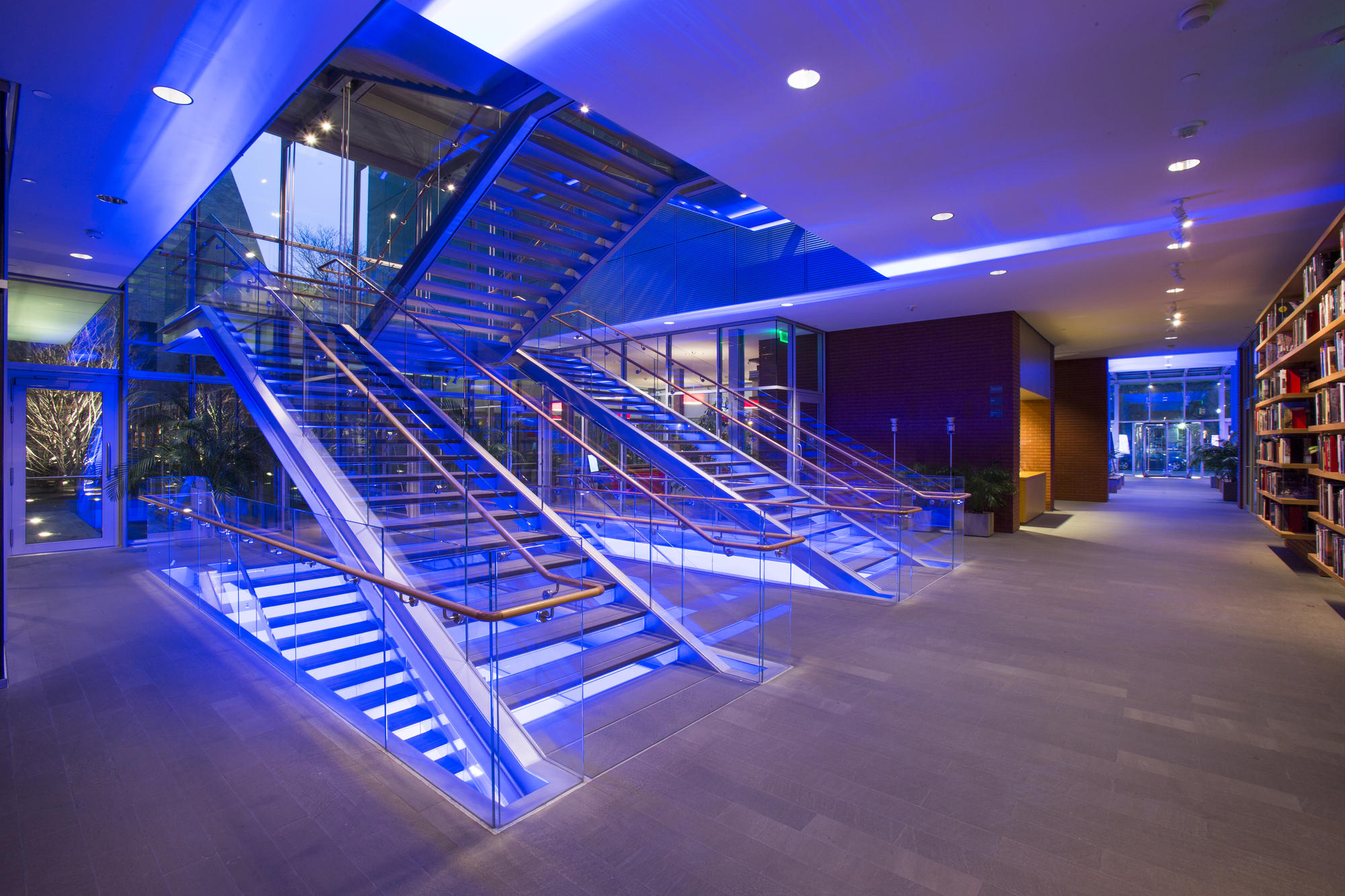 The New Wing Stairs, photo by Matt Teuten