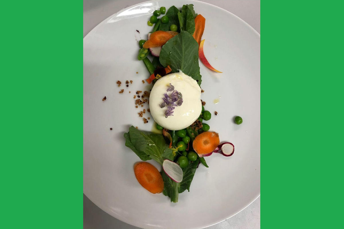 Burrata Salad, photo by Brooke Redican-Tilton