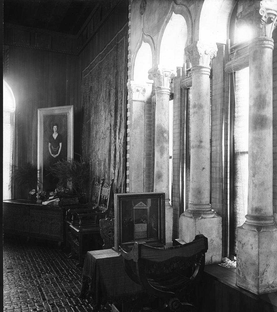 Thomas Marr and Son, Gothic  Room at Fenway Court, 1926