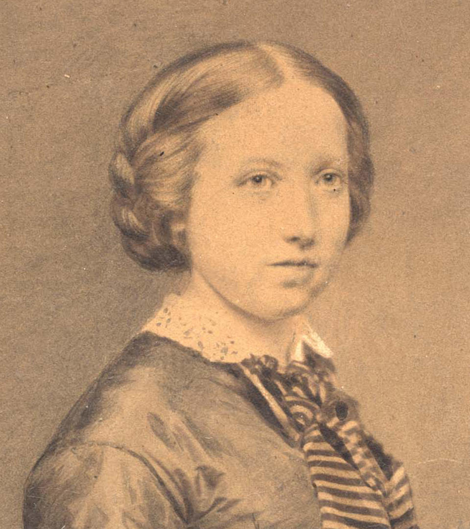 Isabella Stewart Gardner, about 1850