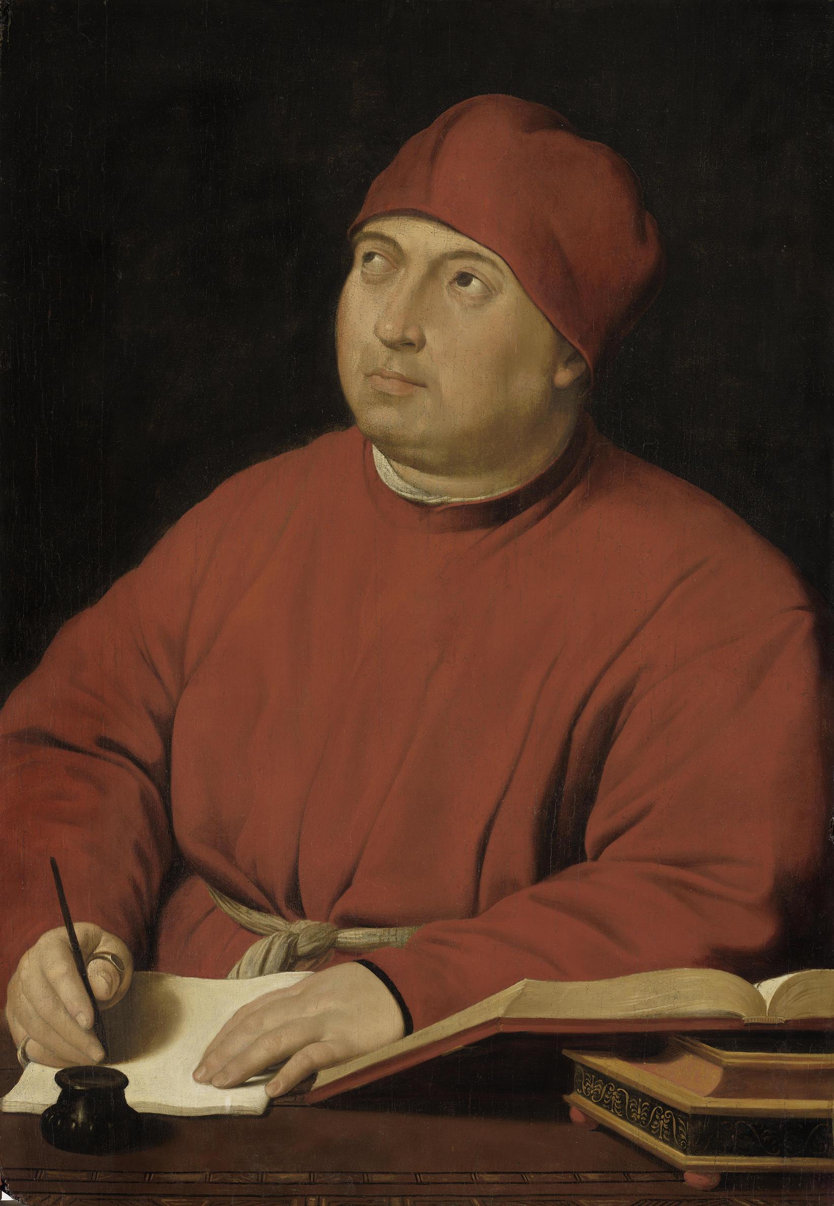 Raphael (Italian, 1483-1520), Tommaso Inghirami, about 1510