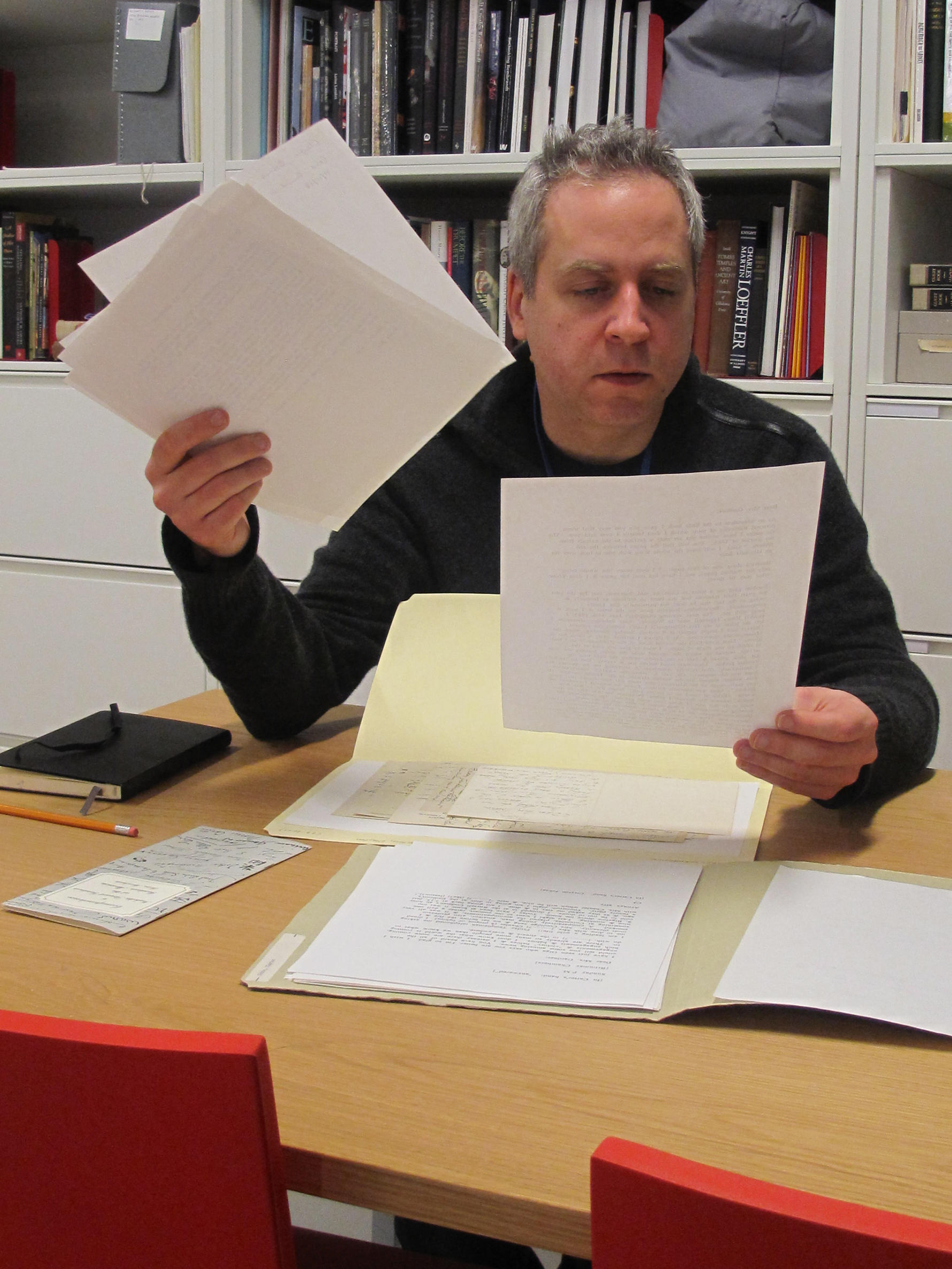 Jeremy Denk in the Archives.