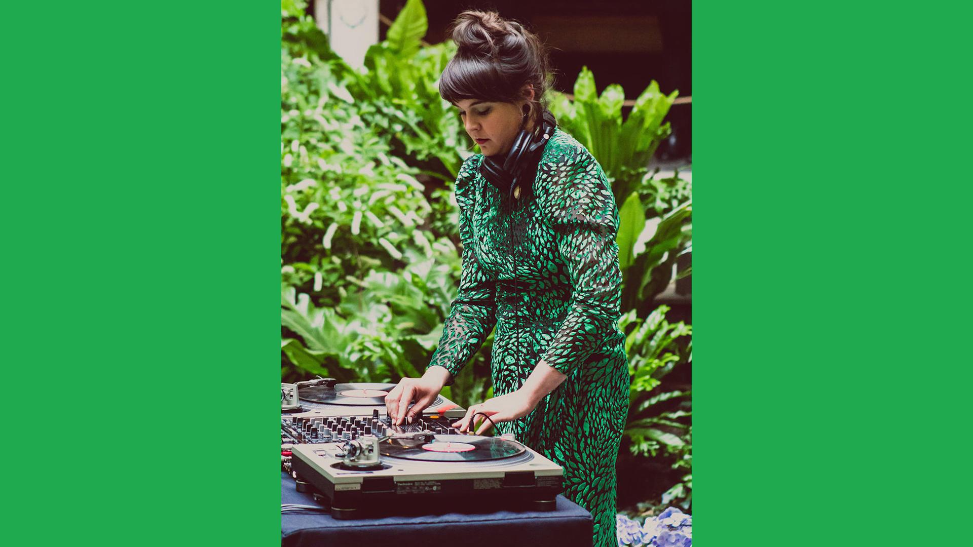 DJ Dayglow, photo by Kara Stokowski