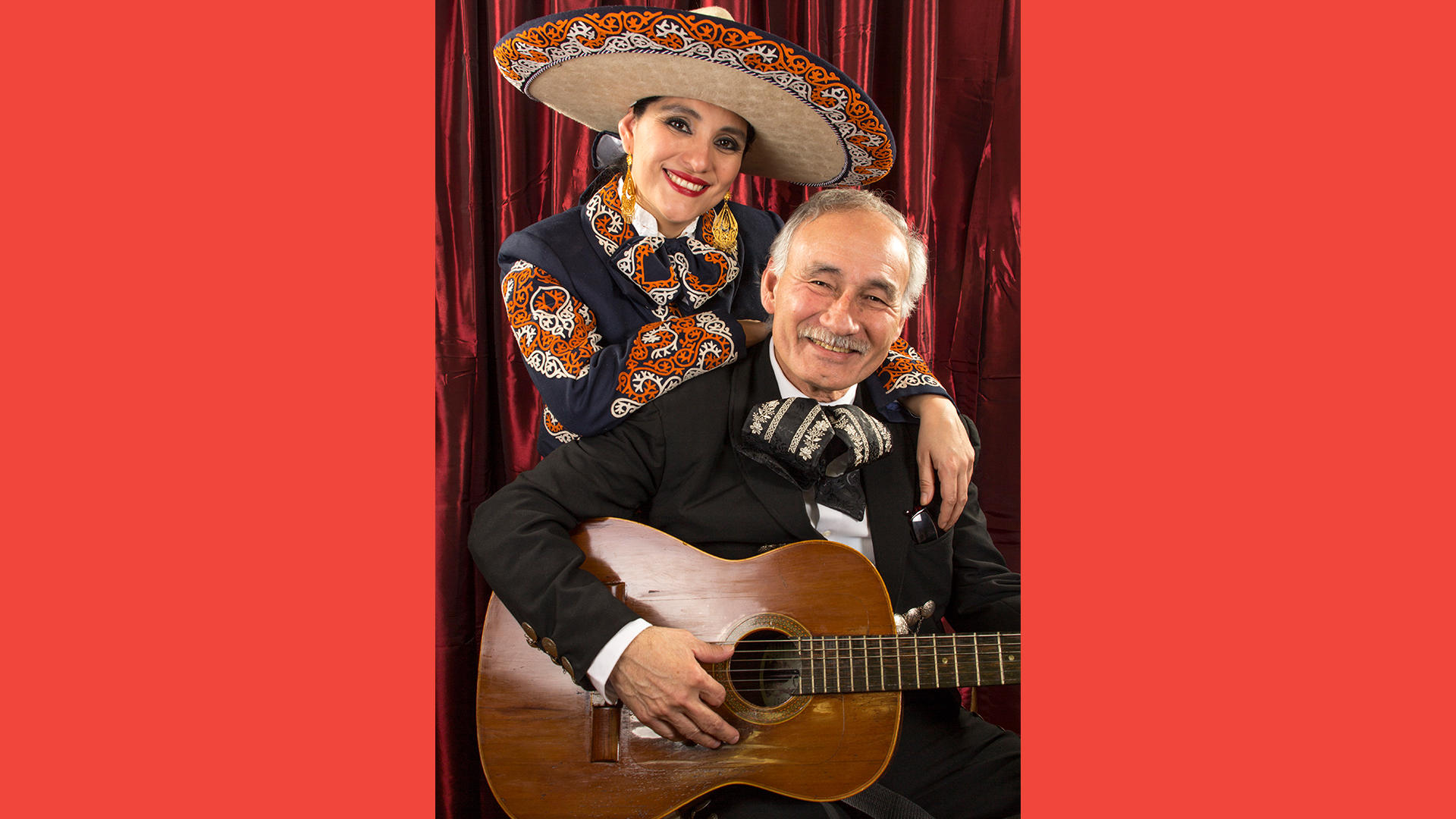 Veronica Robles and Willy Lopez, photo by Tailor-Made