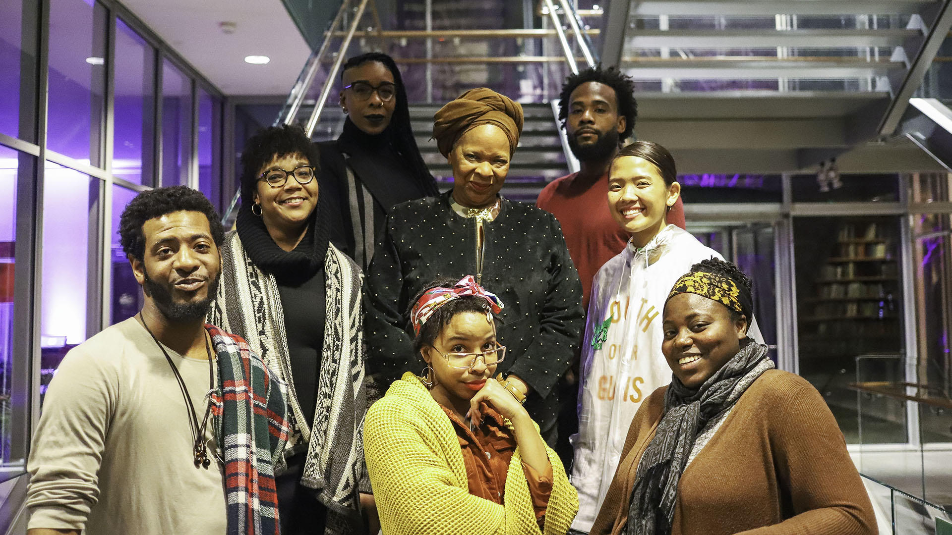 The Community Collaborators, photo by Carlie Febo