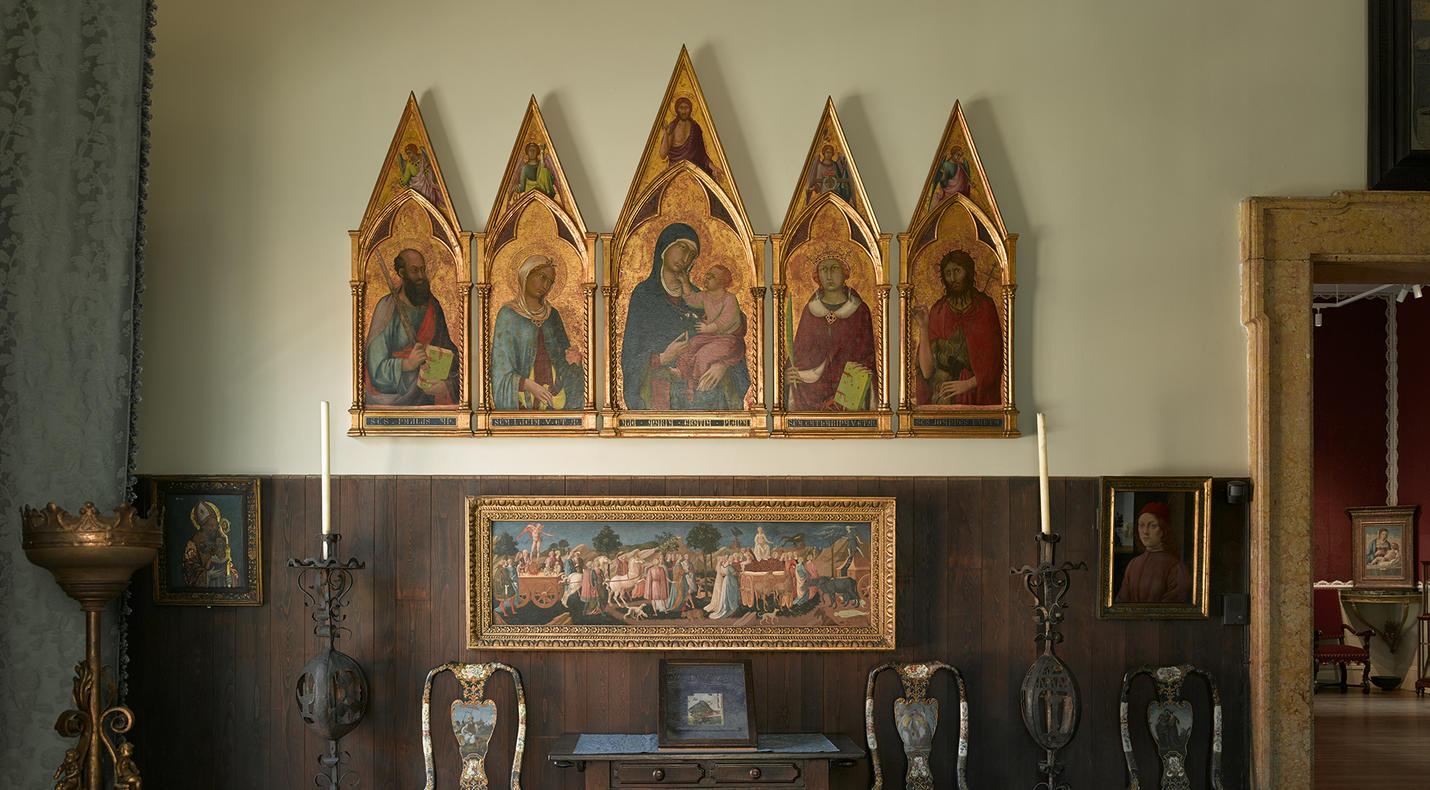 Early Italian Room Isabella Stewart Gardner Museum