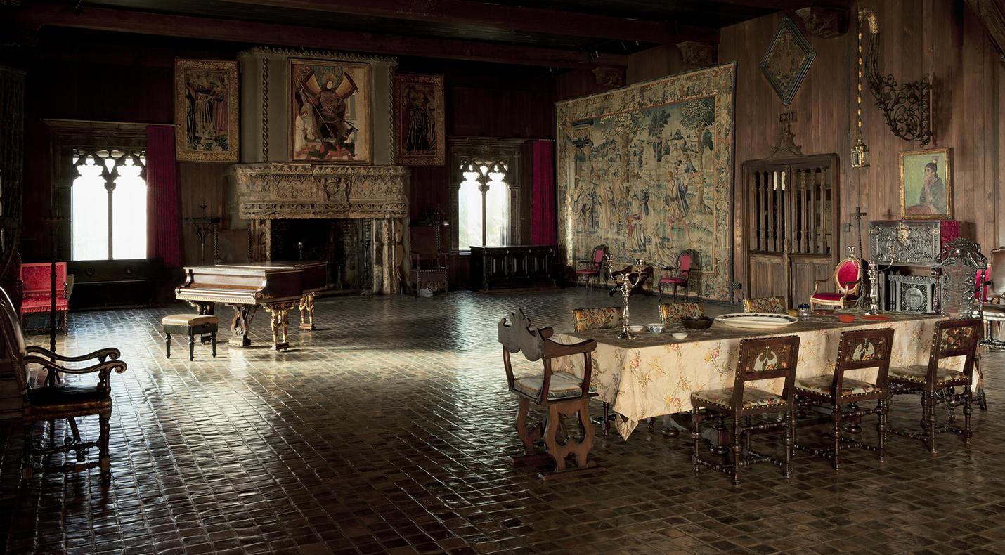 tapestry room isabella stewart gardner museum